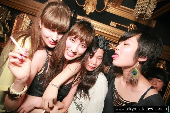 Japanese girls club