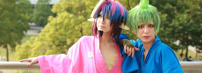 Japanese cosplays at Comiket 80 & Tonari de Cosplay in TFT