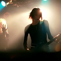 """Neu!-r-v-verderber"" and Tak of Neurotic Doll performing."