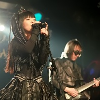 Nekoi Psydoll singing with Ucchi in the back.