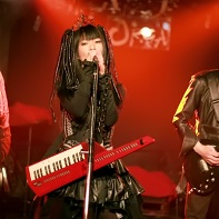 Another shot of Nekoi and her band Psydoll playing at Urga.