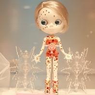 Yoyamart's Icicle Princess Blythe doll.