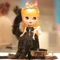 The Q-pot Blythe doll.