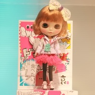 The kobana_sweet_graphic Blythe doll called Shino.