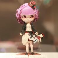 The Blythe doll Wild Rose by M for Monkey is an entry for the 2010 beauty contest.