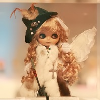 The team Hitorishizuka (一人静) made this Little Angel Blythe doll as their beauty contest entry.