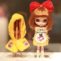 The beauty contest entry Blythe doll Doramico-chan by Boutique Buri.