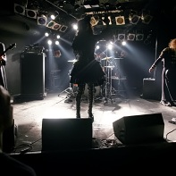 The Australian Visual Kei band GPKISM on stage at the Live In Rosa.