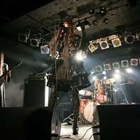 Another wide-angle shot of GPKISM playing live in Tokyo.