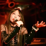 Gothic singer Schizkkha of Shingguapoura live at Urga.