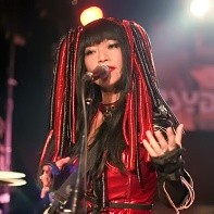 Nekoi of Psydoll singing.