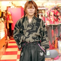 The designer Takuya Sawada founded the brand and designs most of the Takuya Angel fashions.