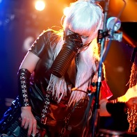 Singer Miya Zombie of PsychoDream was putting on quite a show with several costume changes.