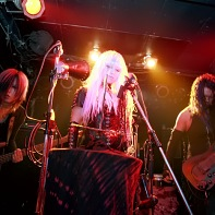Japanese goth band PsychoDream on stage at the Machine Magic live event.