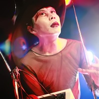 Psydoll's percussionist Uenoyama/Loveless playing his Theremin intro.
