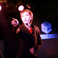 Mars Medicis Mephistopher during his intense performance.