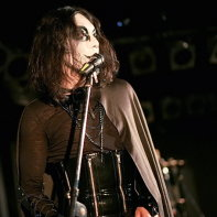 Goth guy Tak of Japanese dark electro band Zwecklos.
