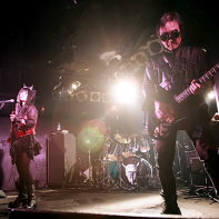 Japanese cyberpunk industrial band Psydoll at the Live Inn Rosa in Ikebukuro.