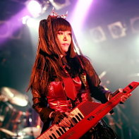 Nekoi Psydoll is the frontwoman and singer and keyboard player of Psydoll.