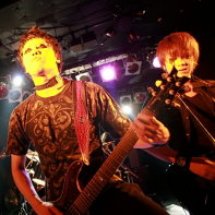 Chihiro in the background joined Zodiaque's Naoto and Jun during their show.