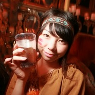 A Japanese girl dressed up as Pocahontas for Halloween.