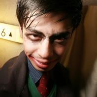 A Japanese guy with scarily kohled eyes.