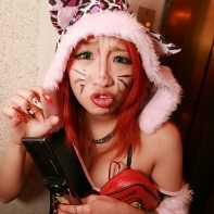 Yet another Japanese girl in a cat girl costume.